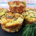 Tostowo- warzywne muffiny...