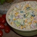 Makaronowa salatka z chru...