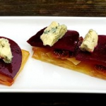 Beetroot and fig filo...