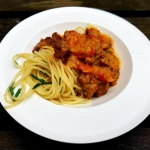 Goulash and spaghetti