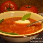 Zacna pomidorowa w wersji...