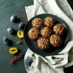 Muffinki owsiane z brzosk...
