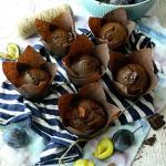 Muffinki czekoladowe ze s...