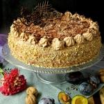 Tort sliwkowo-czekoladowy...