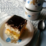 Ciasto z brzoskwiniami i...