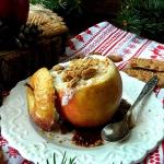 Pieczone jabłka z...