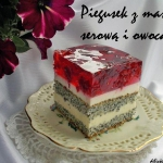 Piegusek z masa serowa i ...