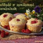 Muffinki z malinami i cze...