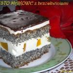 Ciasto makowe z brzoskwin...