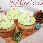 Muffinki choinki