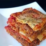 Lasagne bolognese bez sos...