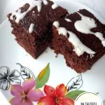 Ciasto czekoladowe, gdy n...