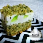 Zielone ciasto na mchu