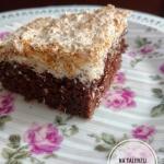 Ciasto czekoladowe z masa...