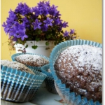 Nadziane muffinki czekola...