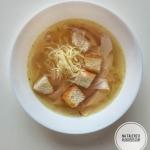 Czeska zupa czosnkowa...