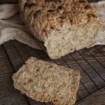 Chleb mieszany łyżka