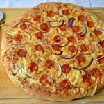 Pizza ze śmietankowym...