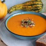 Pikantna zupa z dyni