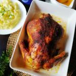 Kurczak pieczony w calosc...