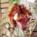 Ćwiartki z kurczaka...