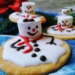 Melting snowmen cookies -...