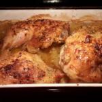 Prosty kurczak pieczony