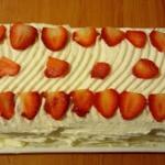 Ciasto truskawkowe Marysi