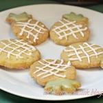 Kruche ciastka - ananaski
