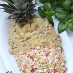 Sałatka Ananas z szynką