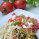 Schab w sosie gorgonzola...