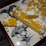 Maslane ciasto z ananasem...