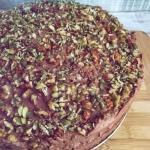 Wegański tort...