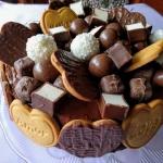Bardzo czekoladowy tort...