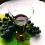 Sok z winogron na zimę