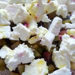 Salatka z burakow, fasoli...