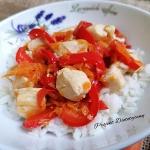 Ryż z kurczakiem teriaki