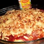 Zapiekane spaghetti