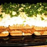 Salatka rybna na krakersa...