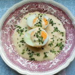 Jajka w sosie musztardowy...