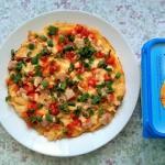 Śniadaniowy omlet jajecz...