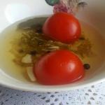 Pomidory w zalewie kornis...