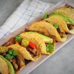 Keto tacos z fajitas...