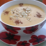 Zupa z dyni waniliowo...