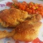 Palki kurczaka w panierce...