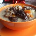 Wegetarianska zupa z grzy...
