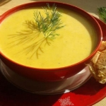 Zupa - krem z ogorka ziel...