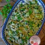Salatka z swiezymi ziolam...