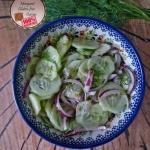 Salatka z ogorka bez smie...