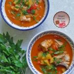 Kokosowo-pomidorowa zupa...